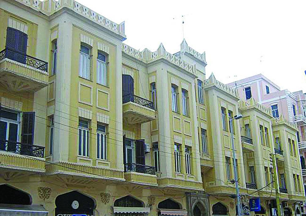 أبنية ذات قيمة تاريخية وأثرية تطو ر شارع عزمي بك من الإنتداب الفرنسي إلى اليوم