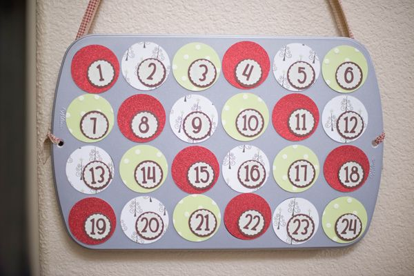 DIY Muffin Tin Advent Calendar Advent calendars, Coupon lady and