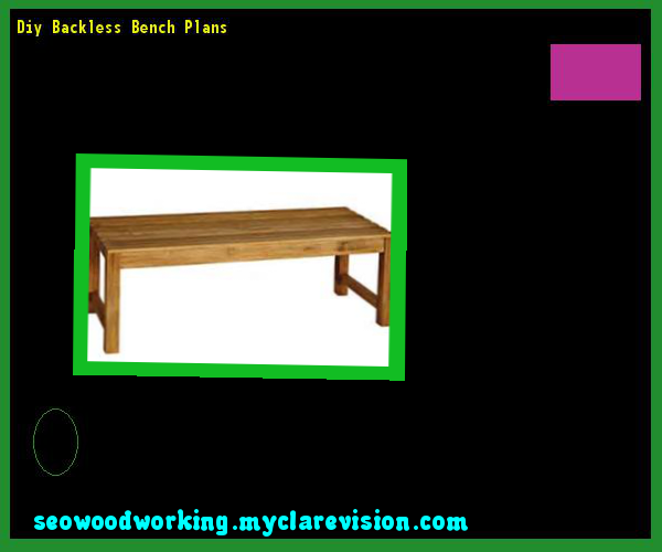Diy Backless Bench Plans 112424 - Woodworking Plans and Projects!