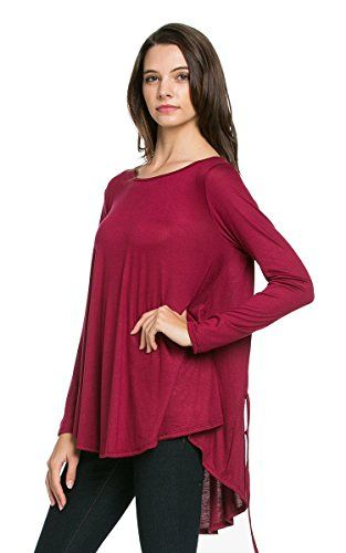 My Space Clothing Women's Round Neck Loose Fit Tunic Knit Burgundy small My Space Clothing http://www.amazon.com/dp/B017HYXJ1S/ref=cm_sw_r_pi_dp_R3JSwb0S3EZBY