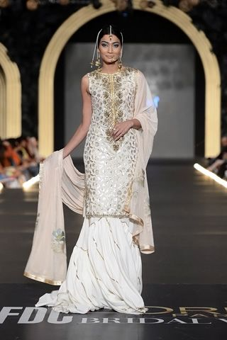 cd0406f745 Fahad Hussayn Collection at PFDC L'Oreal Paris Bridal Week 2013 ...