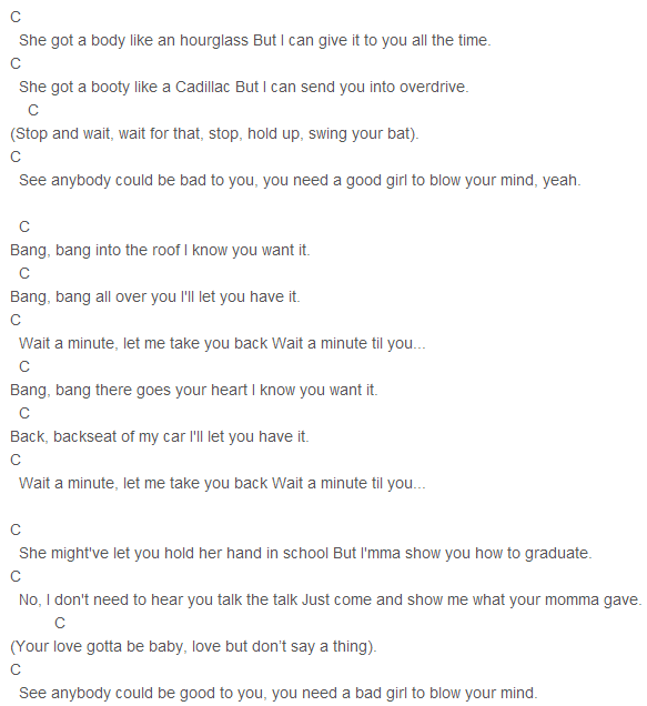 Jessie J, Ariana Grande, Nicki Minaj - Bang Bang Chords | Favorite ...