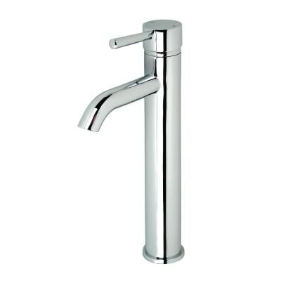 Luxier Single Hole Single Handle Vessel Bathroom Faucet In Chrome