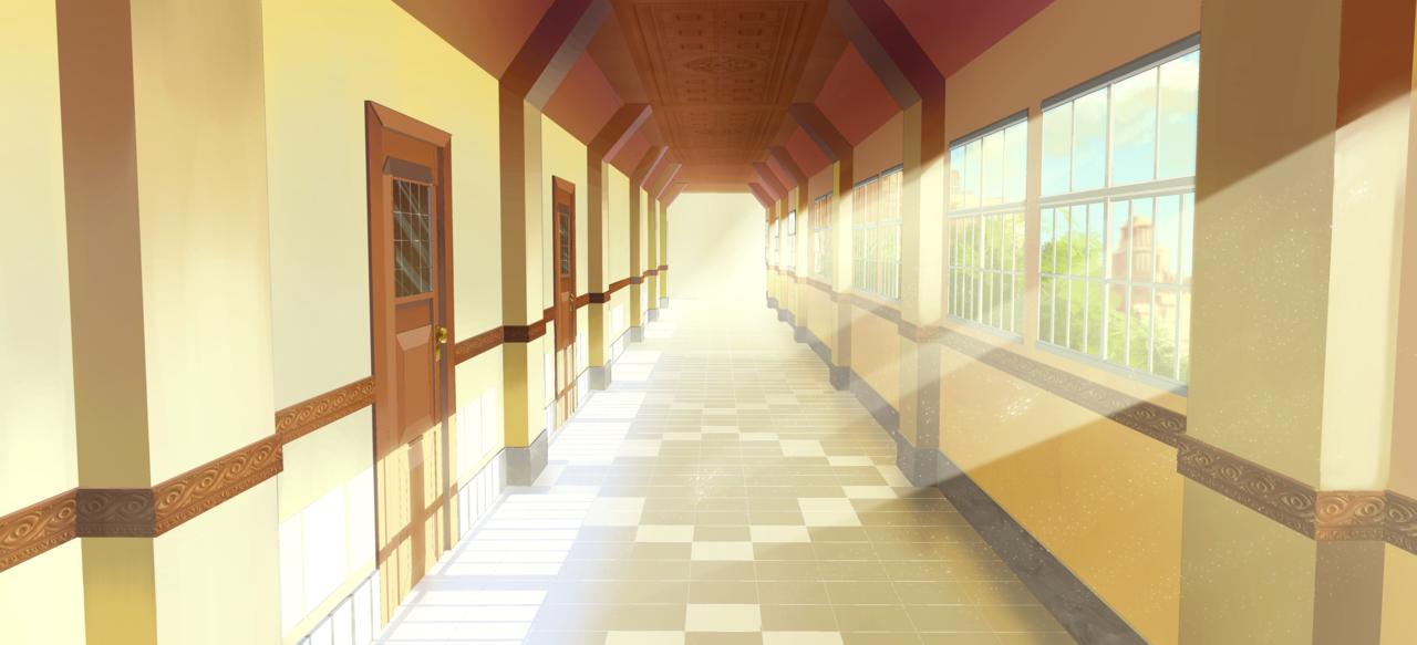 Tlom school corridor bg 1 by exitmothership 1280 583 scottish fairytales - Wallpaper corridor ...