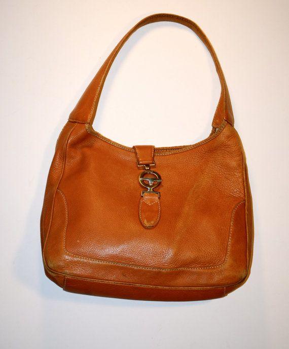 c7559c8a05 Tan Desmo Italian Leather Handbag   Purse