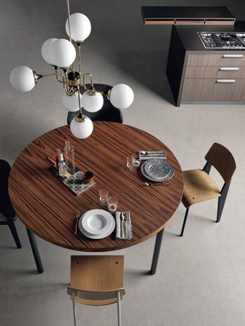 L\'arredamento per la cucina hi-tech e di stile: nell\'area lunch ...
