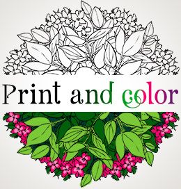amazingly exquisite free printable coloring pages of flowers - Printable Coloring Book Pages