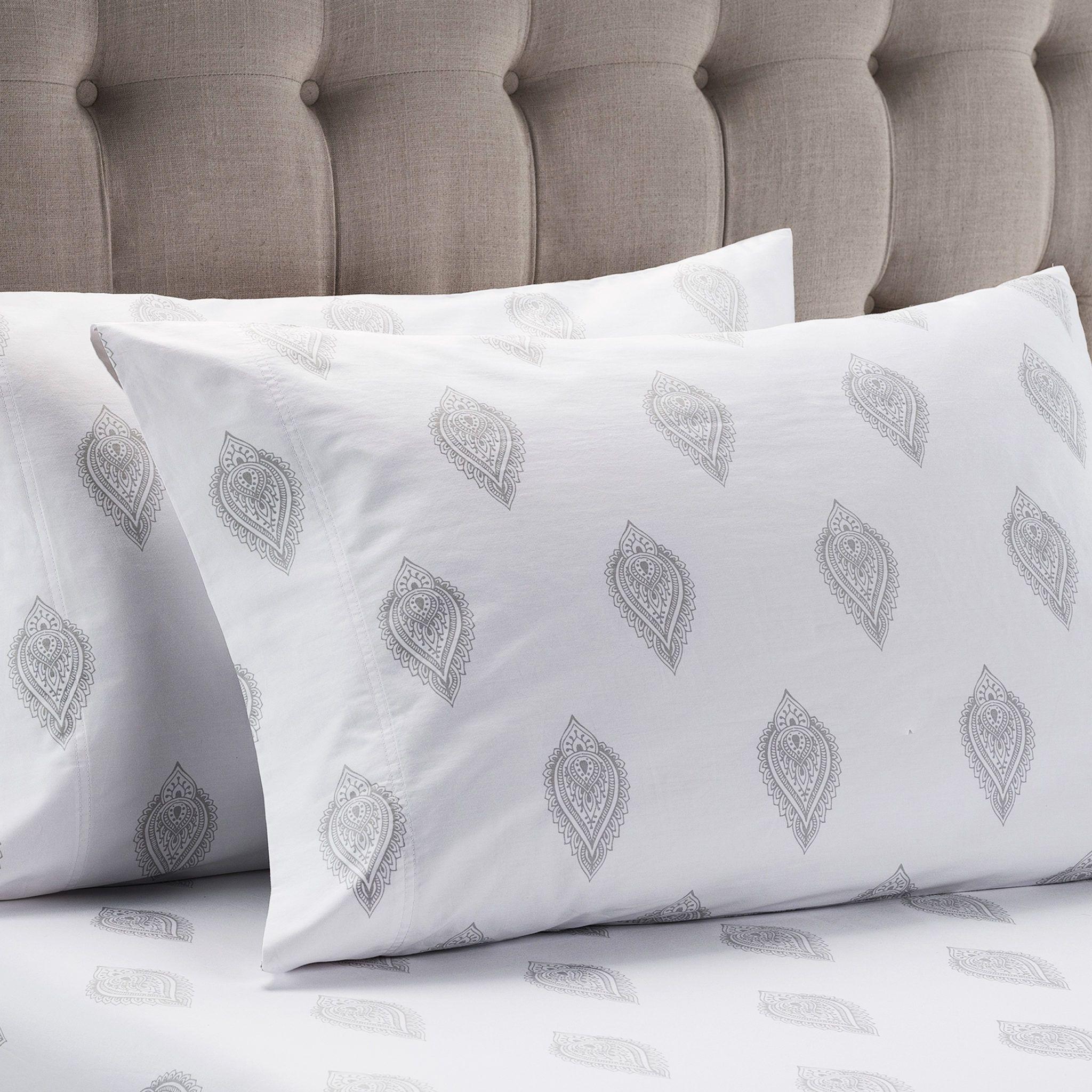 Henna Sheet Set Copper Loom Design Sheet Sets Design Bed Pillows