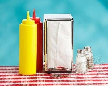 Image Result For 50s Diner Table Setting