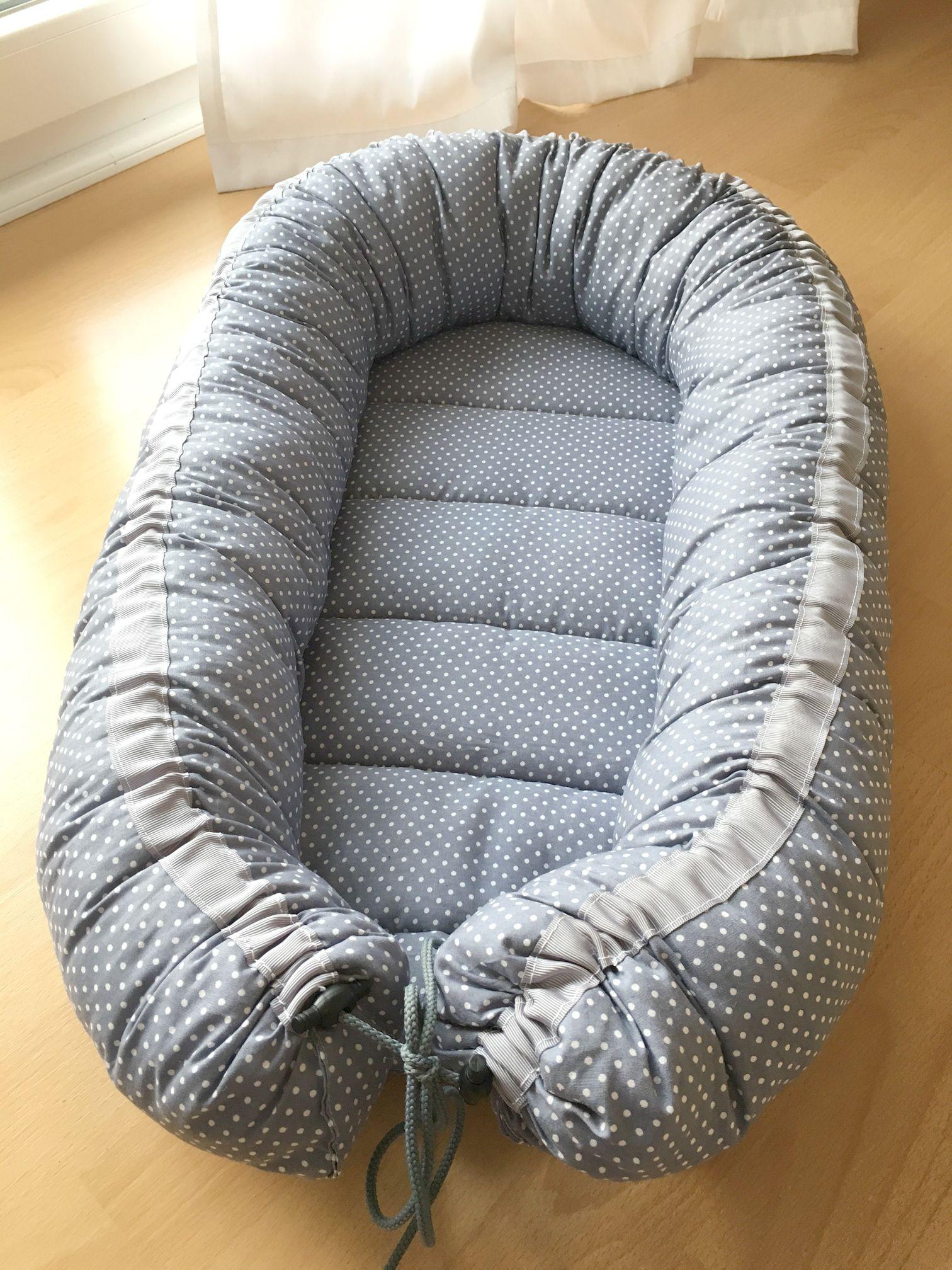 how to sew a babynest wie man ein babynest n ht. Black Bedroom Furniture Sets. Home Design Ideas