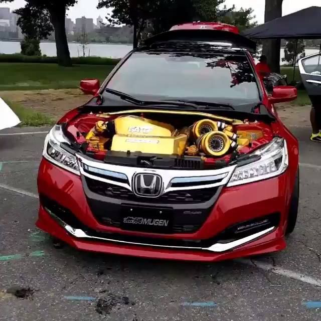Here Is That Widebody Twin Turbo Honda Accord Again