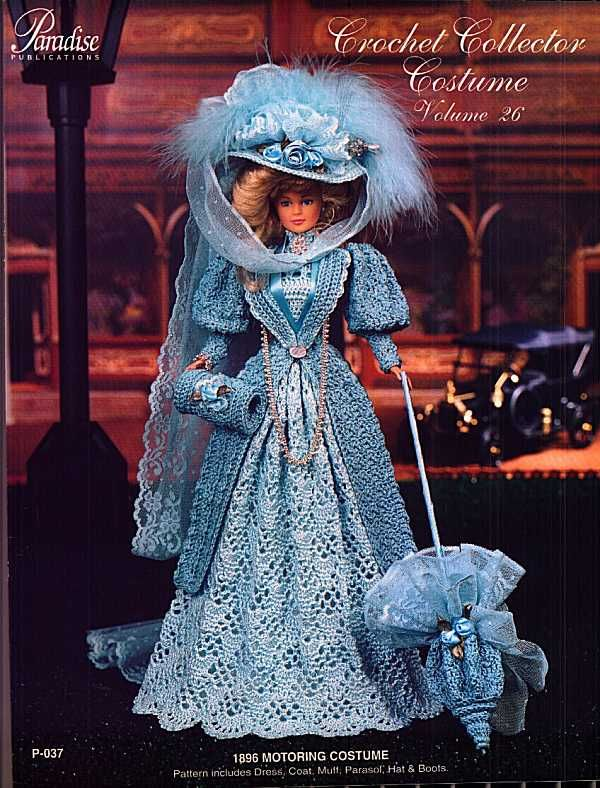 Barbie, Crochet Collector Costume Vol. 26 | Historical Dolls ...