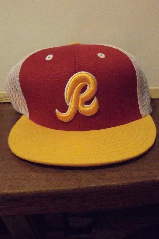 15dabb53c82 Washington Redskins Baseball Type Cap  MitchellNess  Redskins ...
