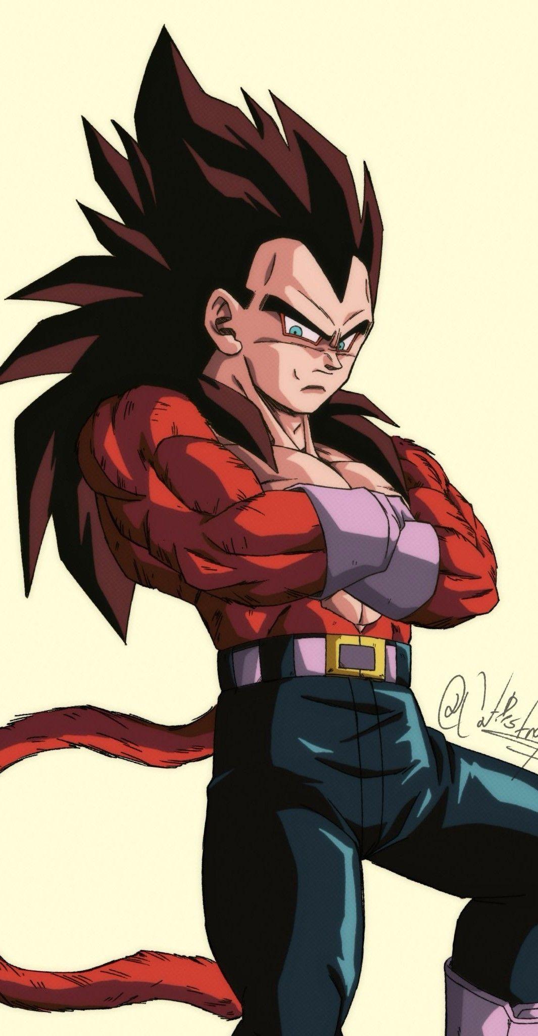 Vegeta Ssj4 By Catdestroyer Personajes De Goku Personajes De Dragon Ball Goku Super Saiyajin 4