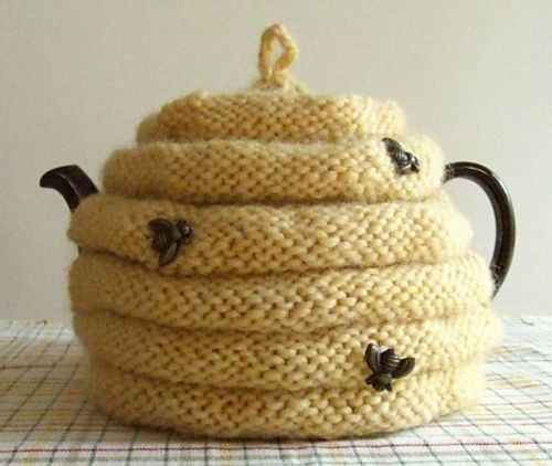 Beehive Tea Cozy pattern by Dawn Brocco | Teteras, Jardín y Cocinas