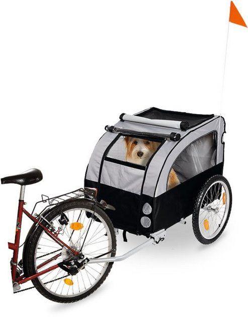 Fahrradhundeanhanger Doggy Liner Berlin Teflon Fahrrad Hunde Und Hund Und Katze