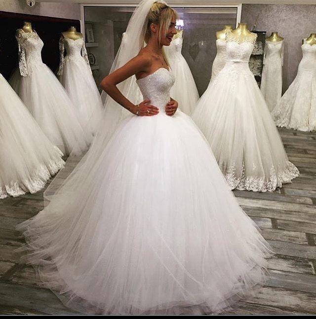 Pin von Nettie Peeters auf apparte trouwjurken  Wedding