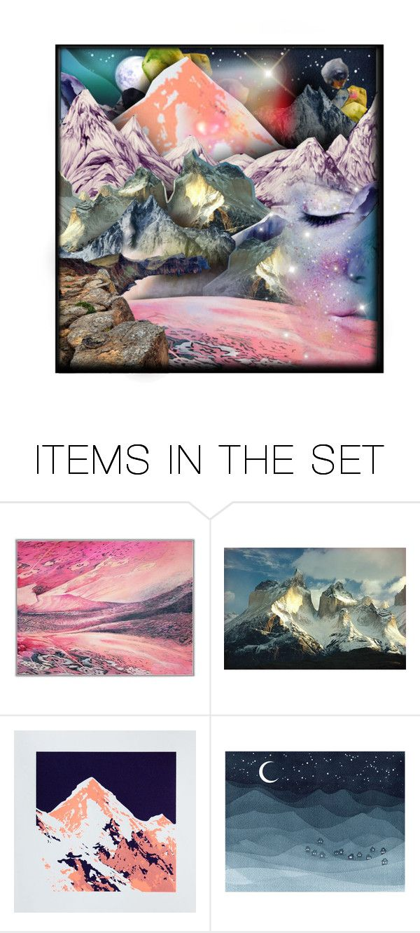 """""""DREAM STATE"""" by caroline-brazeau ❤ liked on Polyvore featuring art, dream, beoriginal, contestentry and artset"""
