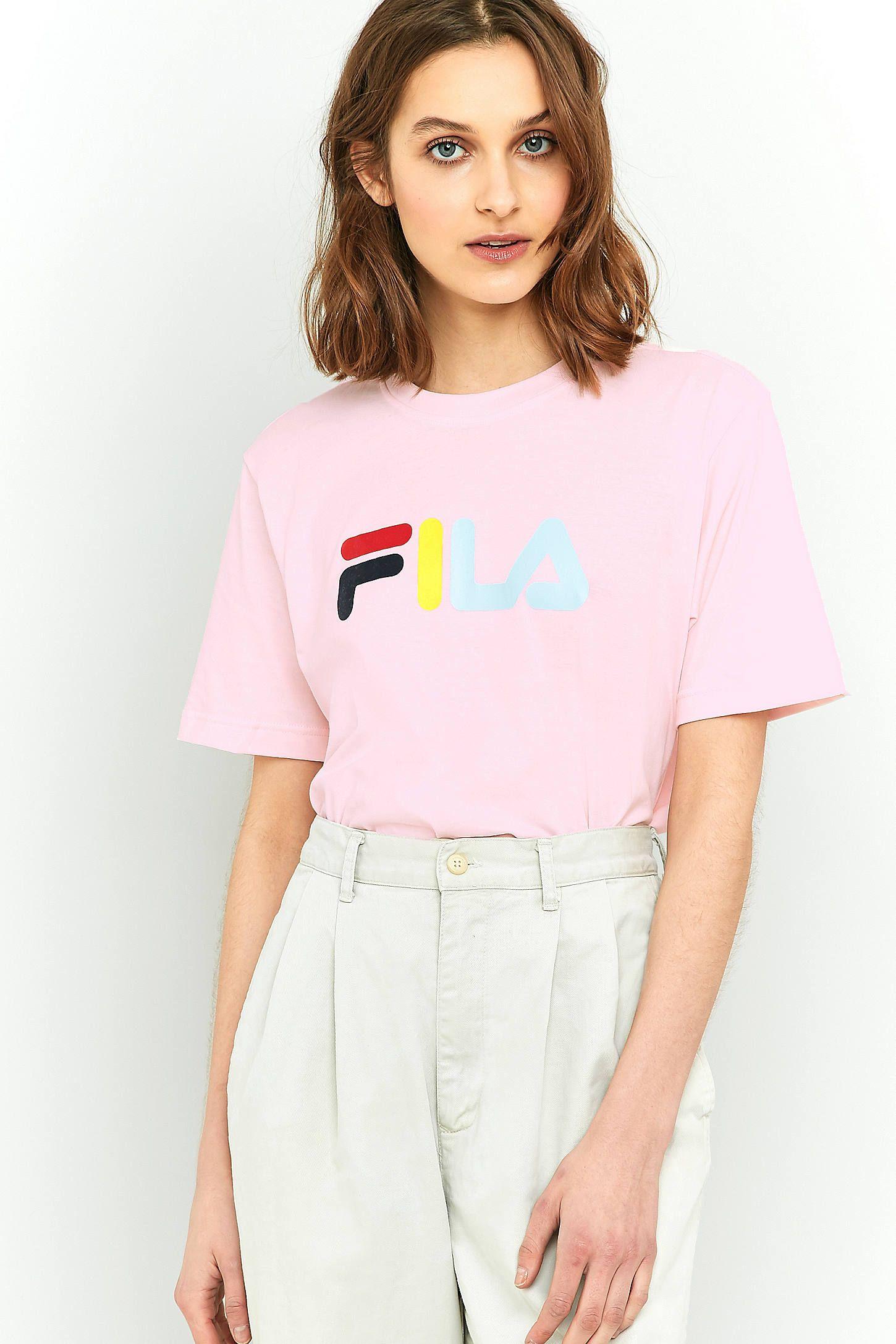 FILA - T-shirt Eagle rose