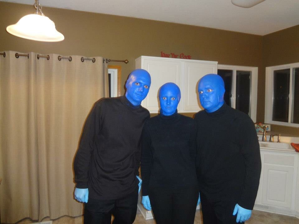 halloween costume blue man group