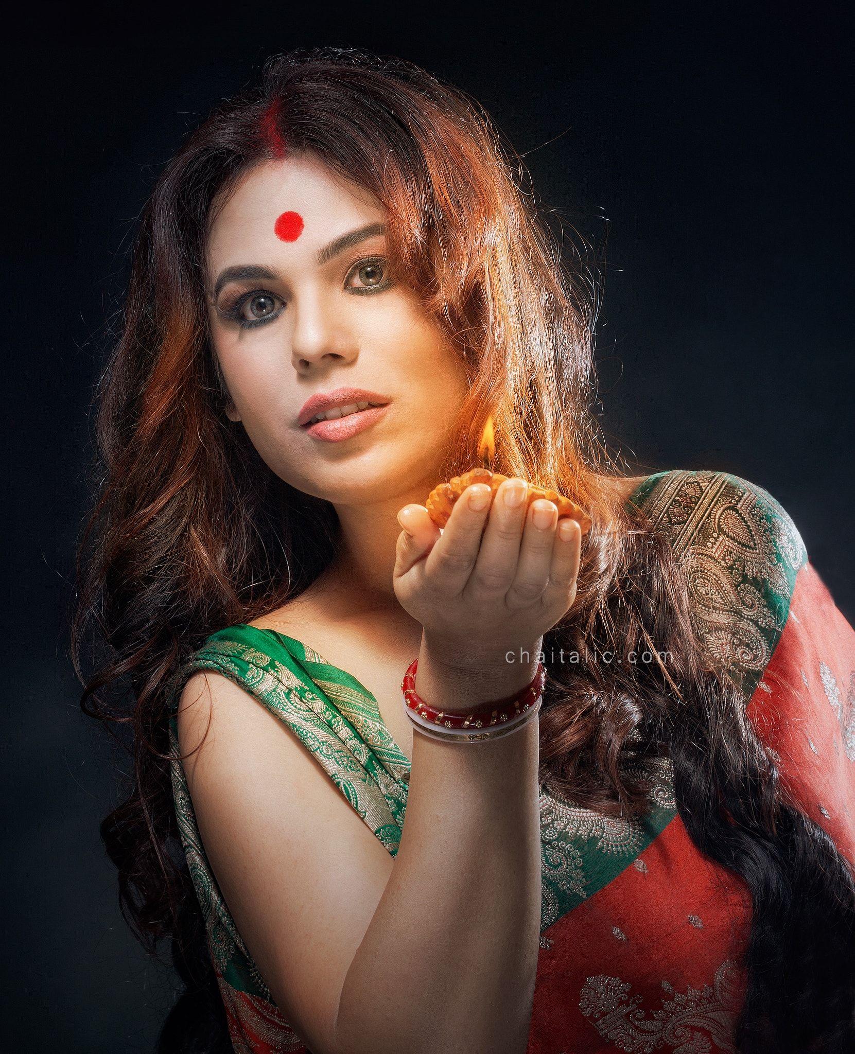 Transgender Model - Shree Ghatak as a transgender who got married