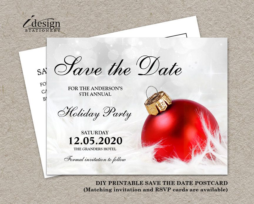 Christmas Party Invitation Save The Date Diy Printable Corporate Holiday P Christmas Invitation Card Corporate Holiday Party Invitations Christmas Invitations