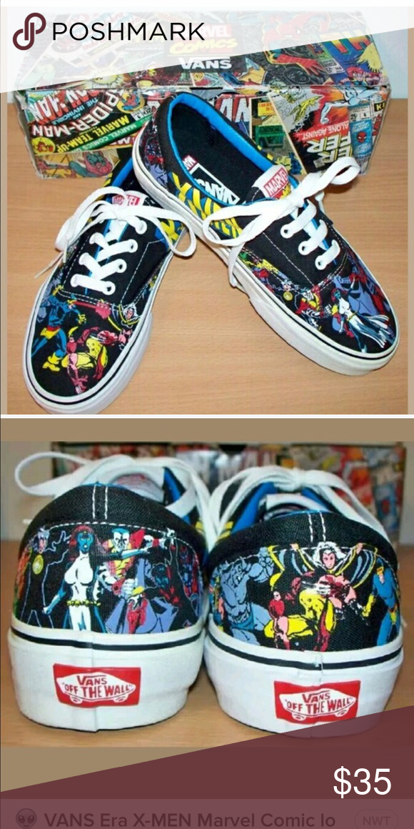 50fbc01b18 ❤️ISO Vans X-Men Marvel Vans in Men s Size 8-9!!❤ I just love these and  would appreciate it if anyone has them or sees them to let me know!!