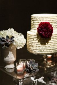 Bold Vintage Wedding Style. Dark blue and a hint of Burgundy.
