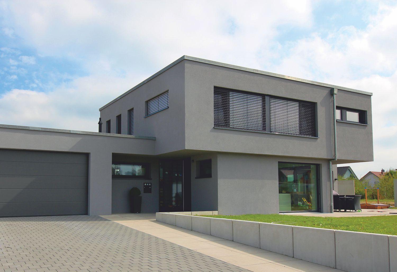 einfamilienhaus modern flachdach in 2020 Flachdach