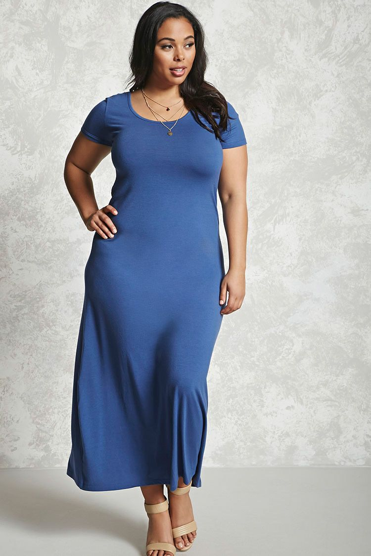 Plus Size Bodycon Maxi Dress | Curvy Fashion | Pinterest | Maxi ...