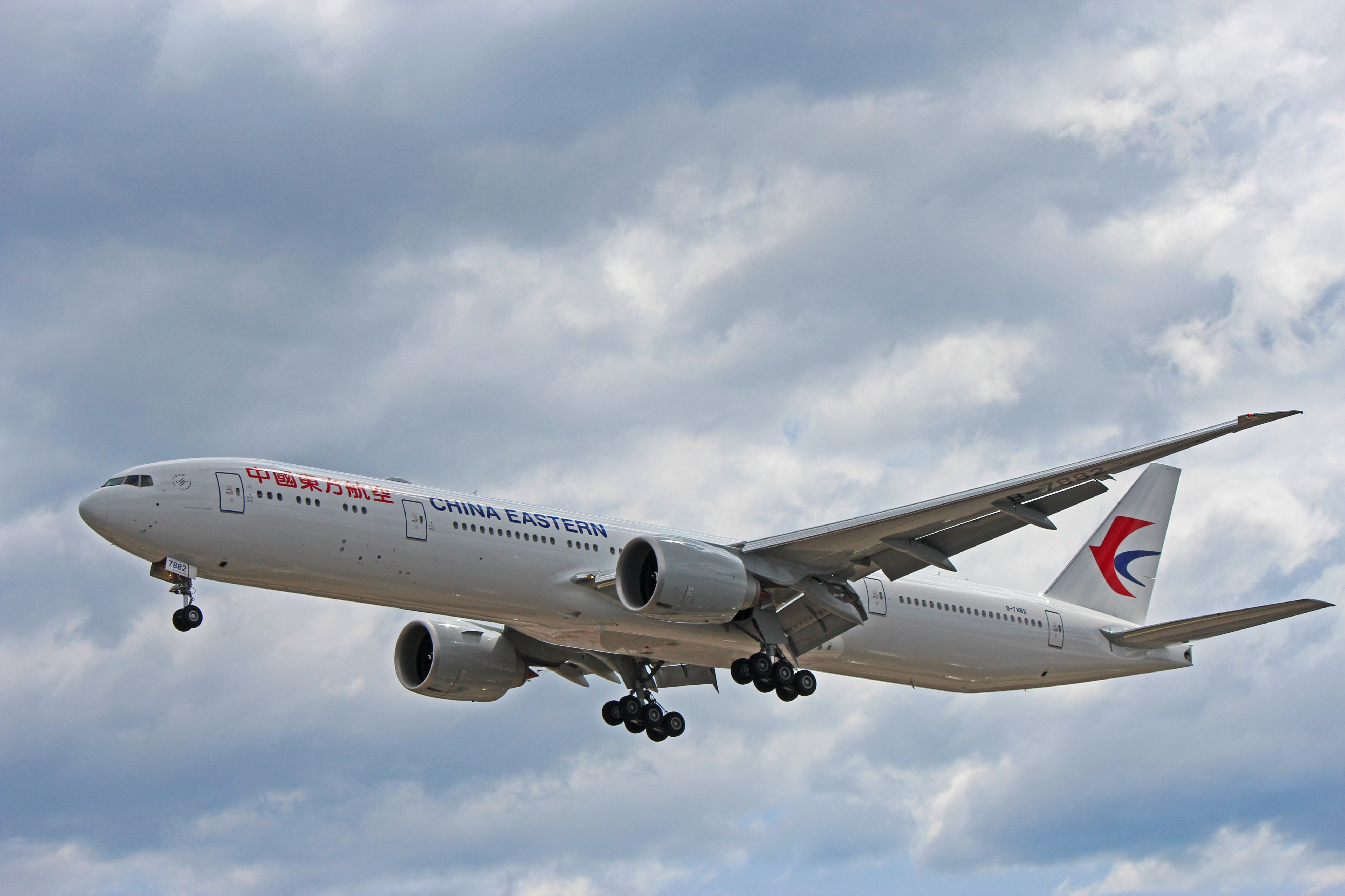 B 7882 China Eastern Airlines Boeing 777 300ER 1st Week In