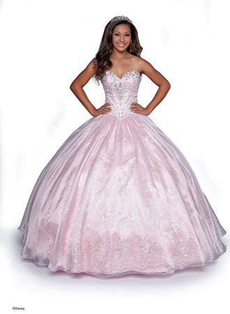 13 Breathtaking Disney Princess-Inspired Quince Dresses   Quince ...