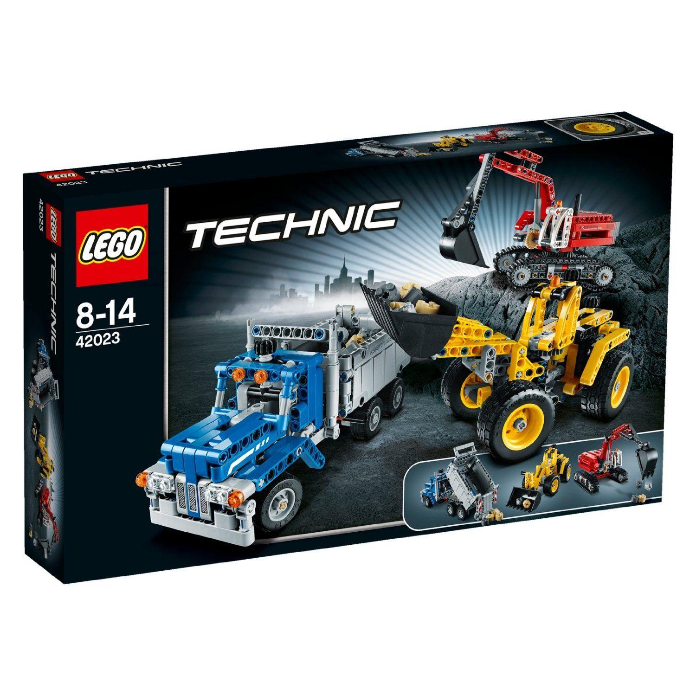 LEGO Technic : Construction Crew (42023)  Manufacturer: LEGO Enarxis Code: 012475 #toys #lego #technic