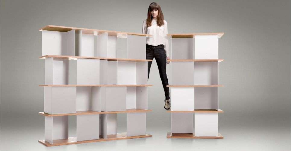 Lichen Une Etagere Haute Blanc Made Com Idees Etageres