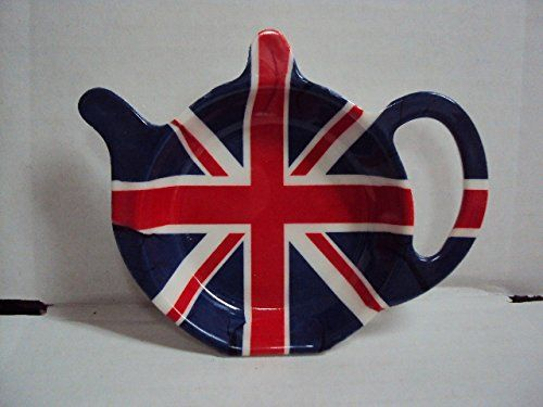 Melamine Spoon Rest England Union Jack Flags Kitchen Utensil