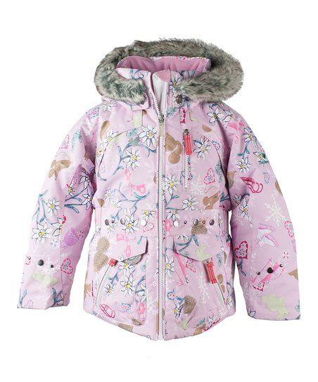 Obermeyer Pink Floral Taiya Ski Jacket Toddler Amp Girls