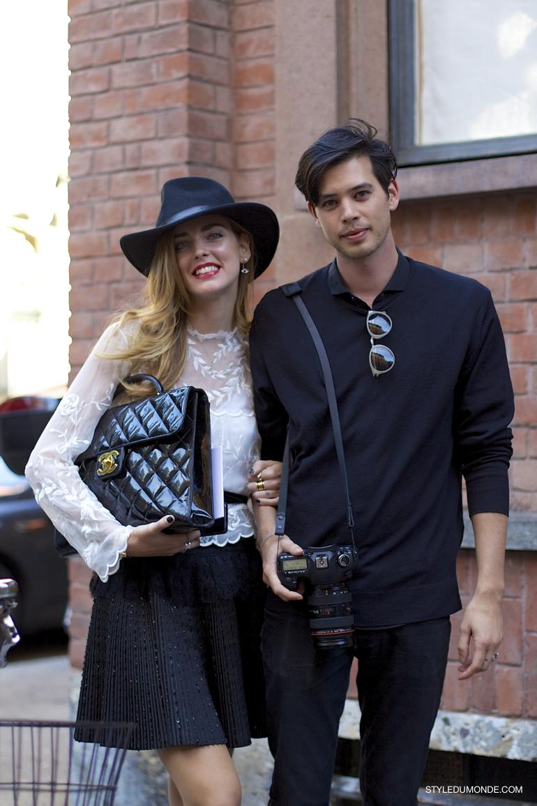 Milan Fw Ss2014 Chiara Ferragni Andrew Arthur Style Du Monde Street Style Street Fashion Photos Stylish Couple Fashion Fashion Couple