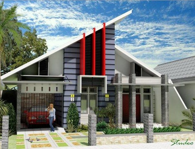 Desain rumah minimalis 1 lantai sederhana 12 villas pinterest desain rumah minimalis 1 lantai sederhana 12 malvernweather Choice Image