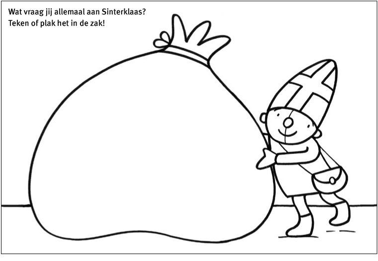 Tekenboek Verlanglijst Voor Sinterklaas Sinterklaas