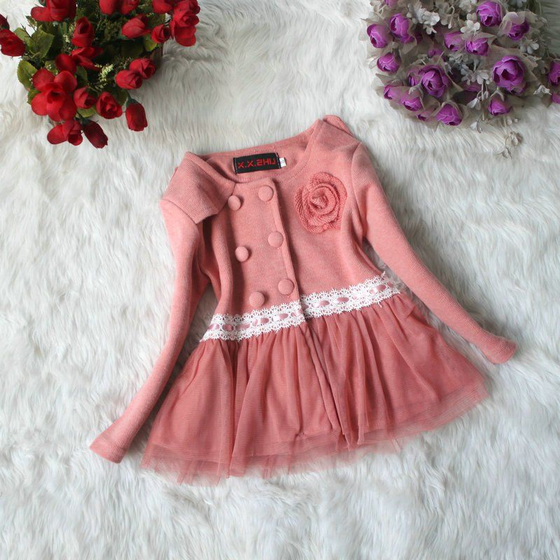 2012-Girls-autumn-winter-Dresses-Baby-New-years-flower-skirts ...