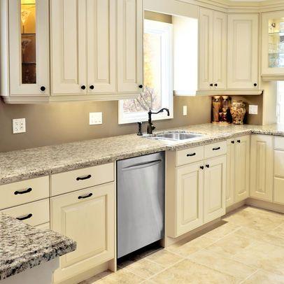 Pin By Liz Halpin On Kitchen Antique White Kitchen Kitchen