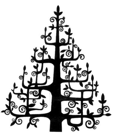 Christmas Tree Christmas Art Christmas Tree Cards Christmas Vectors