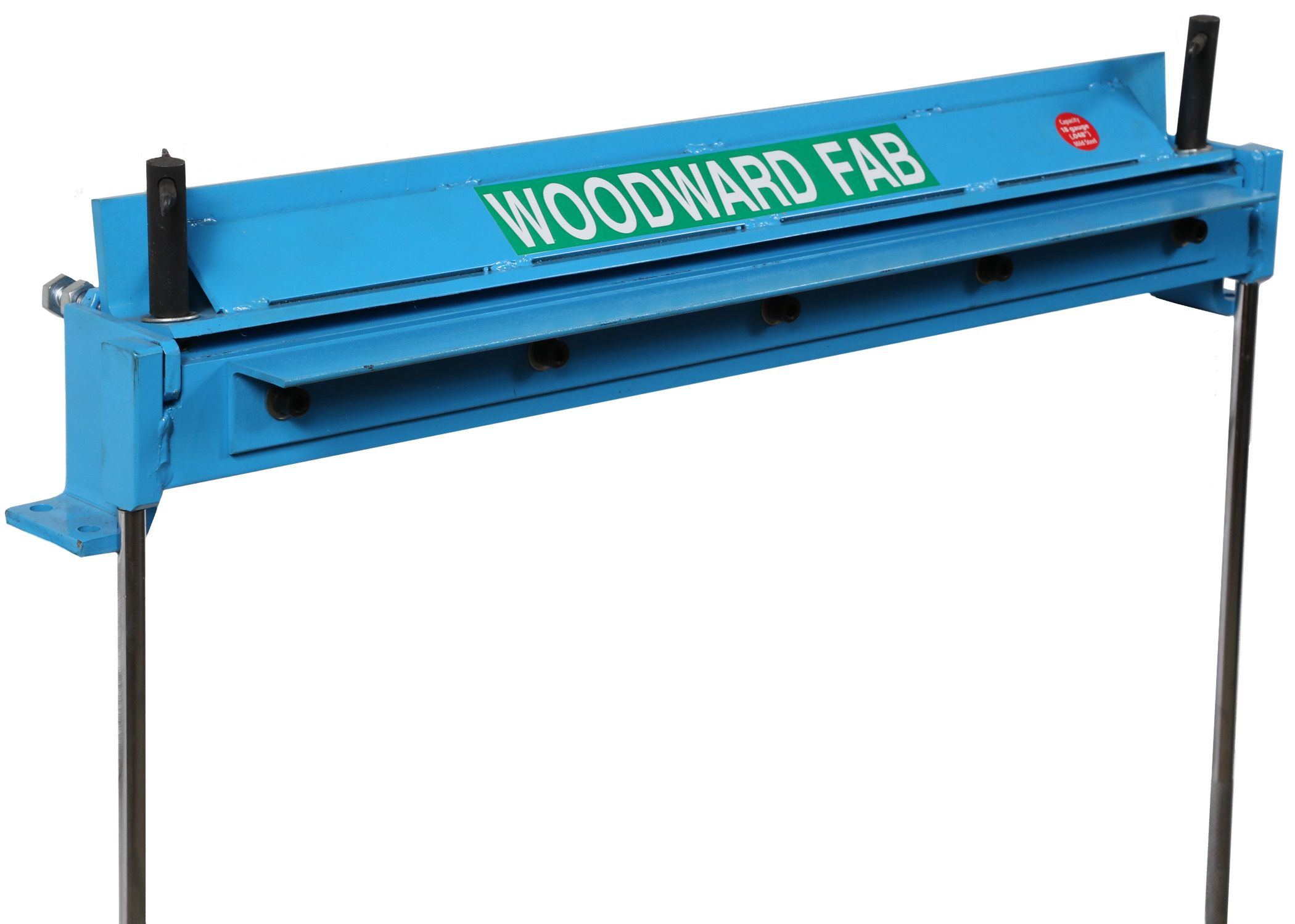 Bench Top 24 Straight Brake Wfb24 By Woodward Fab Sheet Metal Brake Metal Bending Tools Metal Bending