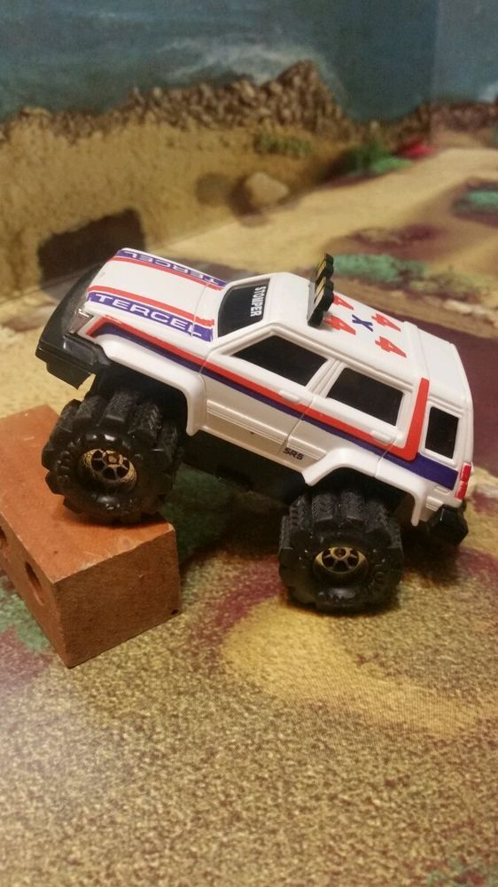 OK, now these weren't so much a part of my child hood, but we used to partake of a certain ceremonial herb in the 80's and set up race courses for these wonderful toys. Big fun!