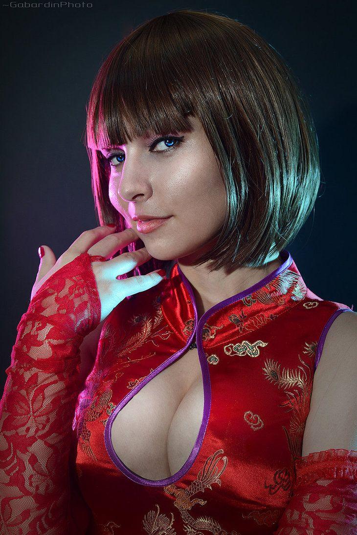 anna williams tekken 6 cosplaygabardin | cosplay | pinterest