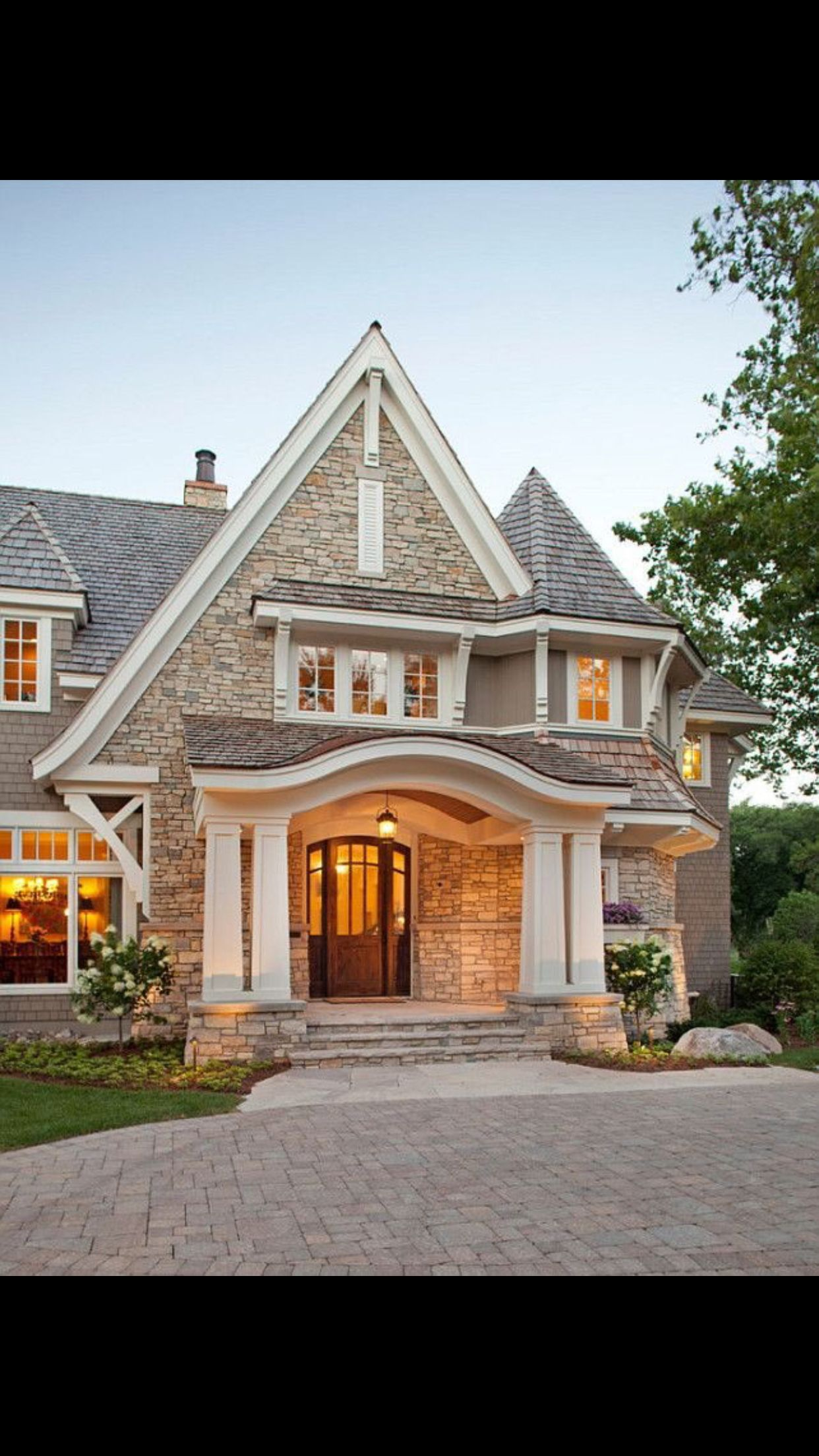 perfect stone exterior houseslarge homes exteriorbrick home exteriorsluxury - Luxury Homes Exterior Brick