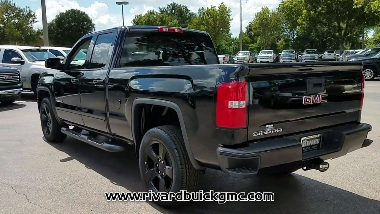 New 2018 Gmc Sierra 1500 2wd Sxl Elevation Edition Double Cab 143 5 At Rivard Buick Gmc New J0 In 2020 Buick Gmc Gmc Sierra Gmc Sierra 1500