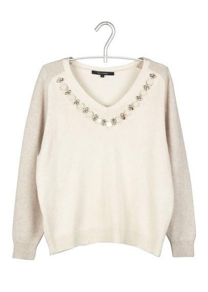 List Blanc Tara Jarmon Pull Shopping Pinterest Bijou By Col 1gEEqa0x