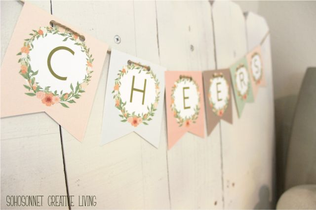 Anthropologie Challenge {Day #6} - Alphabet Free Banner Printable ...