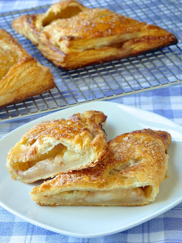 The Best Apple Turnovers Puff Pastry Recipes Sour Cream Pastry Pastry Recipes